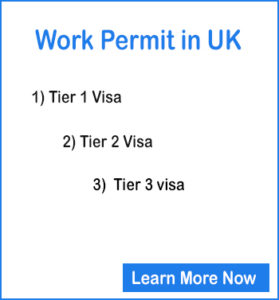 Getting Work Permit in UK