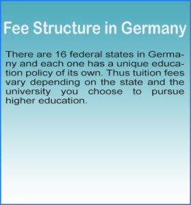 study fees in germany