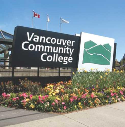 Vancouver Community College Jan 2019 Intake