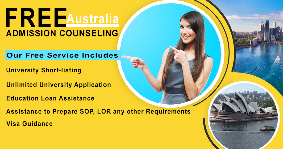 Free Admission Counseling Australia