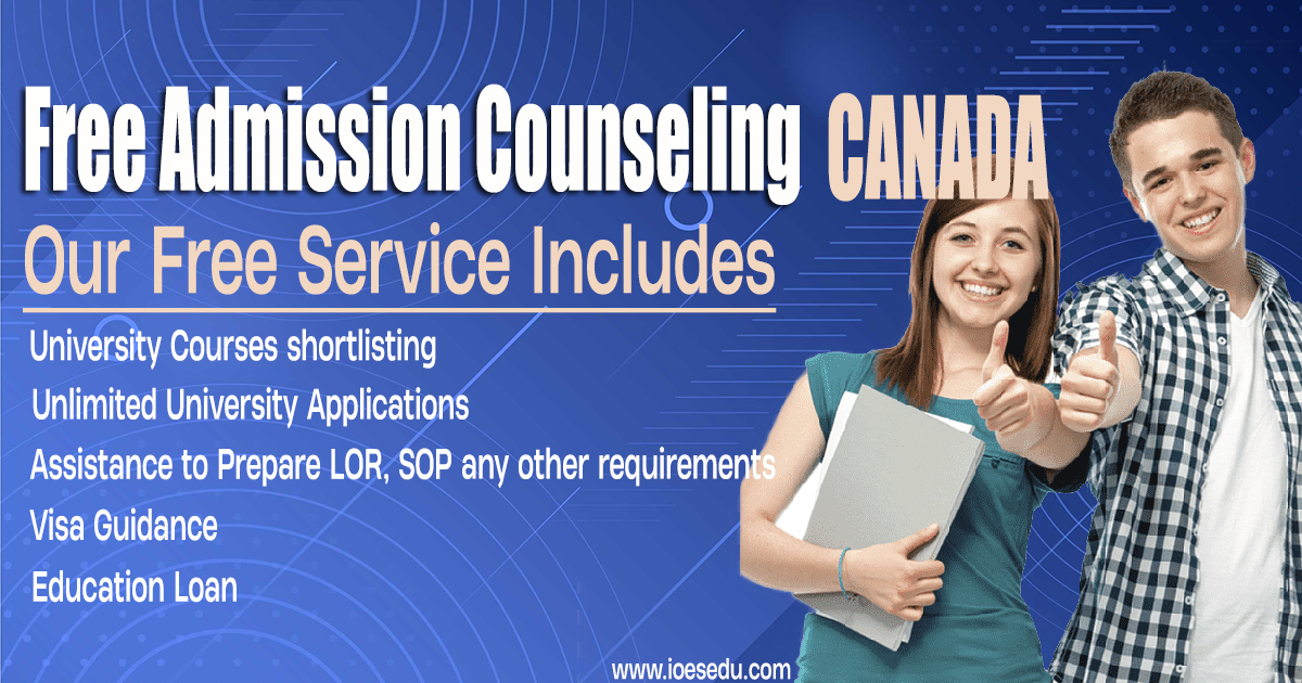 Free Admission Counseling Canada