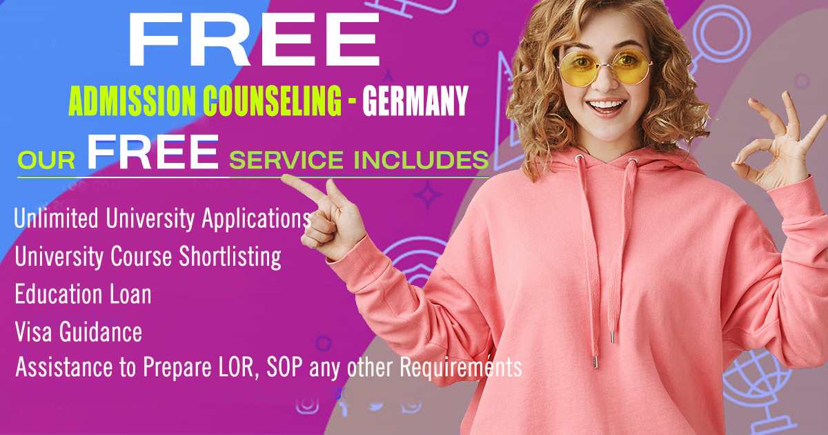 Free Admission Counseling Germany