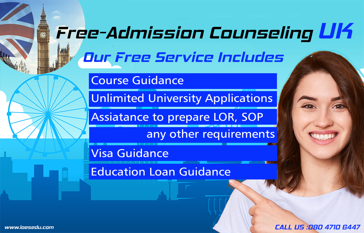 Free Admission Counseling UK
