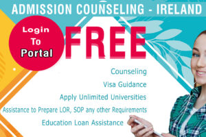 Free Admission Counsellin Ireland